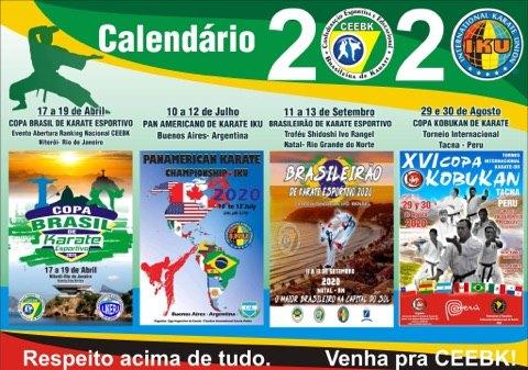 Calendário 2020